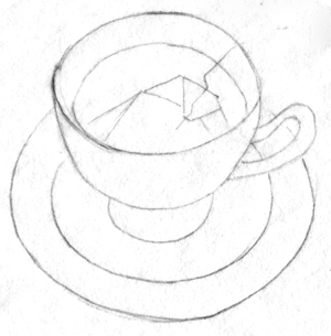 Drawing a Teacup